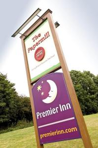 The Bedrooms at Premier Inn High Wycombe