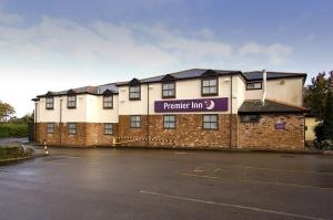 The Bedrooms at Premier Inn Macclesfield South West