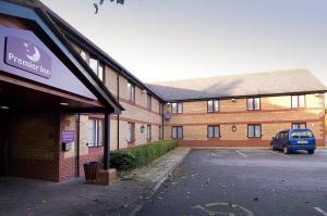 The Bedrooms at Premier Inn Warrington North East