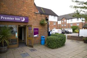 The Bedrooms at Premier Inn London Harrow