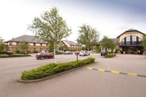 The Bedrooms at Premier Inn Leicester (Braunstone)