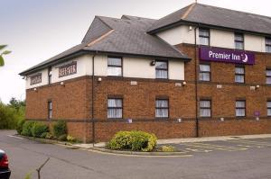 The Bedrooms at Premier Inn Livingston