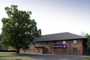 The Bedrooms at Premier Inn Lowestoft