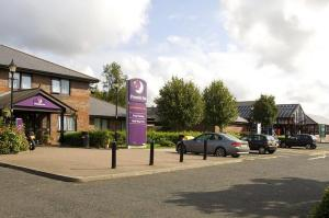 The Bedrooms at Premier Inn Durham South