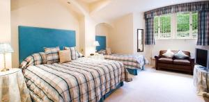 The Bedrooms at Lindeth Fell Country House Hotel