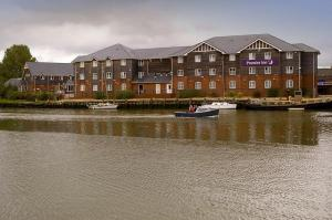 The Bedrooms at Premier Inn Isle Of Wight (Newport)