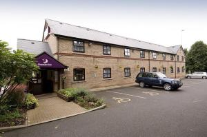 The Bedrooms at Premier Inn Leicester North West