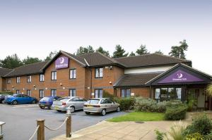 The Bedrooms at Premier Inn Norwich