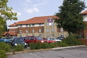 The Bedrooms at Premier Inn Oxford