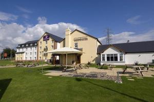 The Bedrooms at Premier Inn Llanelli Central East