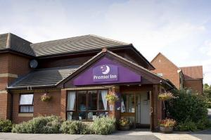 The Bedrooms at Premier Inn Thurrock East