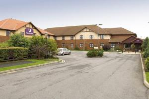 The Bedrooms at Premier Inn Newcastle Cramlington