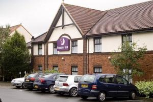 The Bedrooms at Premier Inn Glenrothes