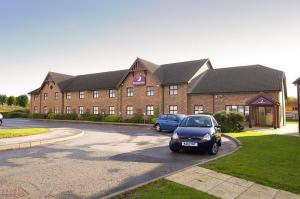 The Bedrooms at Premier Inn St. Helens South