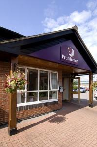 The Bedrooms at Premier Inn Swansea North