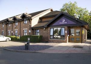 The Bedrooms at Premier Inn Wellingborough