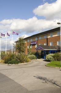 The Bedrooms at Premier Inn Wakefield South
