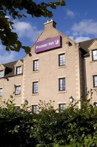 The Bedrooms at Premier Inn Falkirk