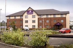 The Bedrooms at Premier Inn Glasgow East Kilbride Nerston