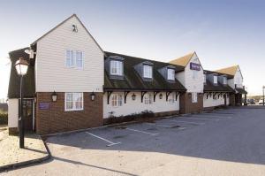 The Bedrooms at Premier Inn Gravesend