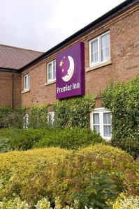 The Bedrooms at Premier Inn Lichfield