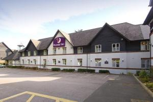 The Bedrooms at Premier Inn Plymouth East