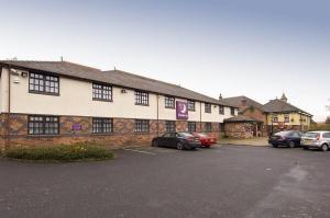 The Bedrooms at Premier Inn Manchester