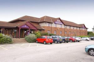 The Bedrooms at Premier Inn Mansfield