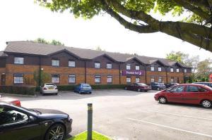 The Bedrooms at Premier Inn Port Talbot