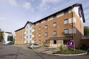 The Bedrooms at Premier Inn Manchester (West Didsbury)