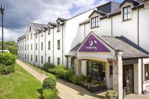 The Bedrooms at Premier Inn Glasgow Milngavie