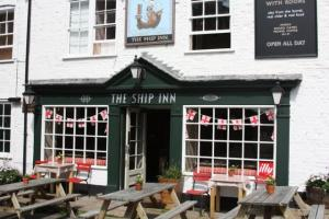 The Bedrooms at The Ship Inn