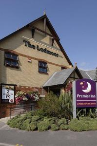 The Bedrooms at Premier Inn Weymouth