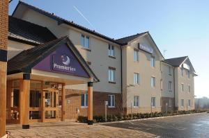 The Bedrooms at Premier Inn Coleraine