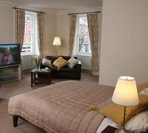 The Bedrooms at Trewythen Hotel