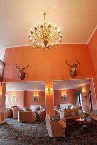 The Bedrooms at Inver Lodge