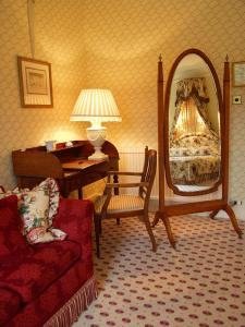 The Bedrooms at Inverlochy Castle Hotel