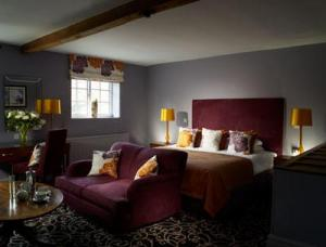 The Bedrooms at Bishopstrow House and Halycon Spa
