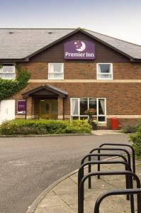 The Bedrooms at Premier Inn Durham North