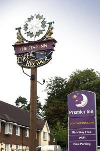 The Bedrooms at Premier Inn East Grinstead