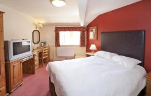 The Bedrooms at Feathers Inn