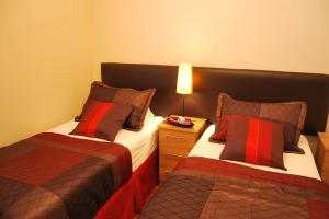 The Bedrooms at Stay Edinburgh City Apartments