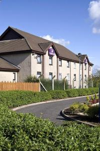 The Bedrooms at Premier Inn Glasgow (Cumbernauld)