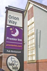 The Bedrooms at Premier Inn Glasgow