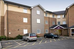 The Bedrooms at Premier Inn Harwich
