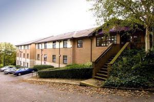 The Bedrooms at Premier Inn Wigan West