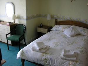 The Bedrooms at Combe Lodge