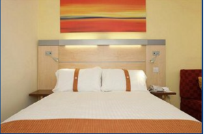The Bedrooms at Holiday Inn Express Dundee