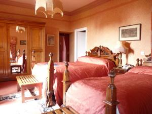 The Bedrooms at Lands of Loyal hotel