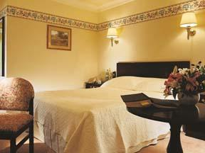 The Bedrooms at The Roman Way Hotel